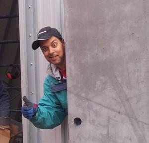 back door almost done