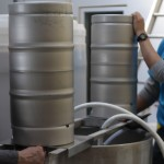 Keg cleaning
