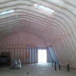 Insulation almost done.